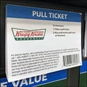 Krispy-Kreme Padded Pick Card