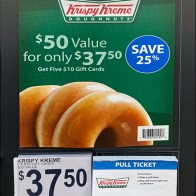 Krispy-Kreme Padded Pick Card