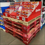 Quicken Cascade Pallet-Load Display Branded