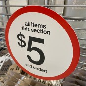 $5-And-Under Category Sales Flag