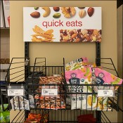 Quick-Eats Wall-Mount Open-Wire Snack Basket