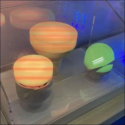 GE Smart-Lighting Custom Display
