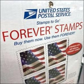 USPS Forever-Stamps Cashwrap Sales