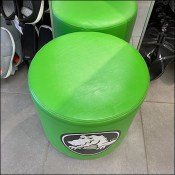 Crocs Branded Ottoman Store Seating