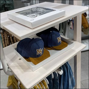 H+M Children's Apparel Cap-and-Hat Tray