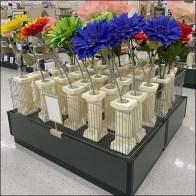 Column-Shape Vase Floral DisplayColumn-Shape Vase Floral Display