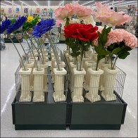 Column-Shape Vase Floral Display