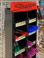 Sharpie Pen Powerwing Cubical Display
