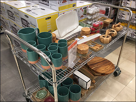 Macy's Miscellaneous Merchandise Utility Cart