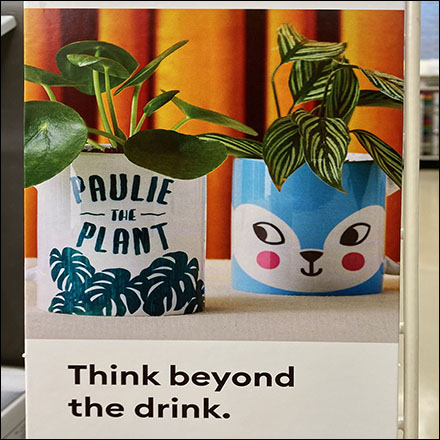 Cricut Think-Beyond-The-Drink Promotion