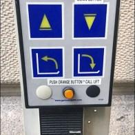 Sidewalk Handicapped Elevator Call Button
