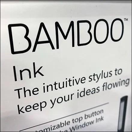 Bamboo Stylus Countertop Display
