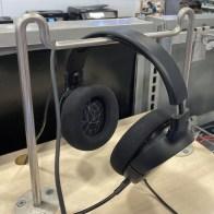 Twin Camel-Hump Headphone Hanger