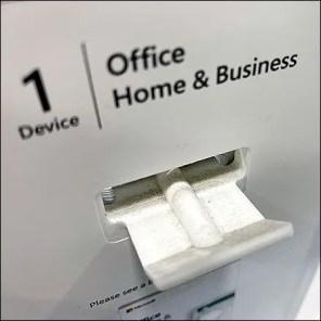 Microsoft-Office Miniature Butterfly Hook