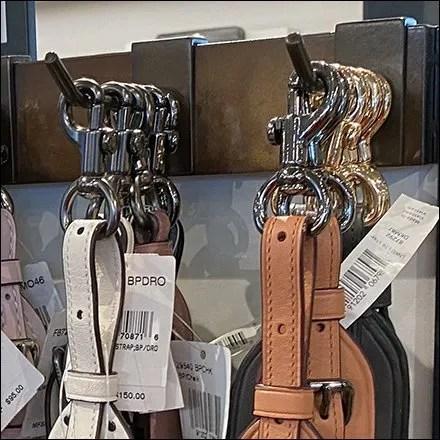 Coach Swivel Snap-Clasp Belt Hanger