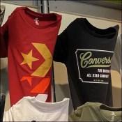 Converse Tees Bar-Mount Faceout Hang