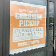 Dicks Curbside-Pickup Now Available Poster