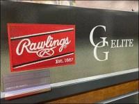 Rawlings Baseball-Glove Freestanding Display