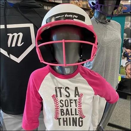 Dick's Softball Helmet Mannequin Array 2