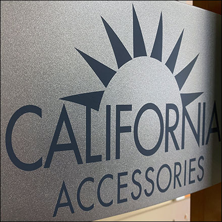 California Eyewear Acrylic-Pegboard Display