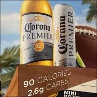 Coronita Mini-Bottles Stacked Display