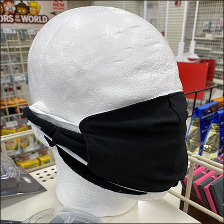 Faceless Face-Mask Headform Model