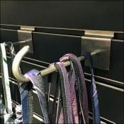 Nordstrom Necktie J-Hook Merchandising