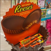 Reese's Peanut-Butter-Cup Tower Display