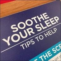 Inline Soothe-Your-Sleep Tips Display