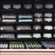 Aisle-Long Decorated Cake Cooler DisplayAisle-Long Decorated Cake Cooler Display
