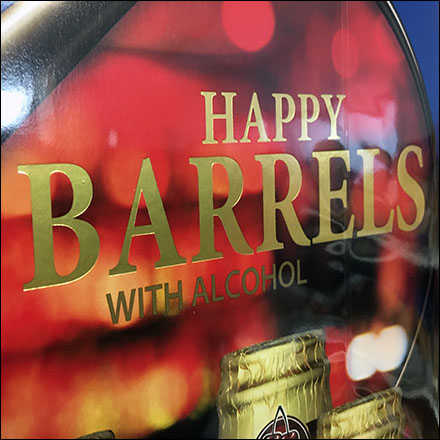 Happy-Barrels Alcohol-Filled Chocolate Treats