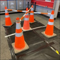 Target Construction Traffic Cone Array