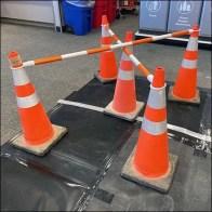 Target Construction Traffic Cone ArrayTarget Construction Traffic Cone Array