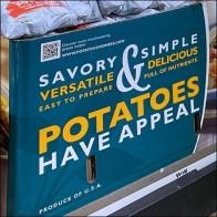 Potatoes Have Appeal QR-Code Display