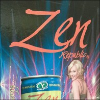 Zen Risqué Cooler Door Decal Branding