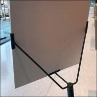 Apple Minimalist Poster Stand Design