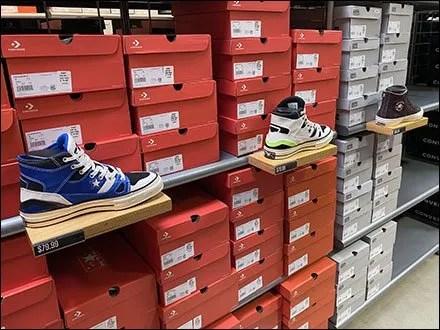 Converse Adult Sneaker Shelf-Edge Ledges