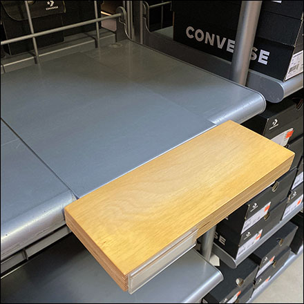 Converse Adult Sneaker Shelf-Overlay Ledges