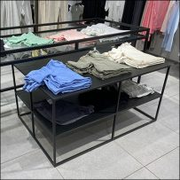 H&M Large Through-Truss Table Display