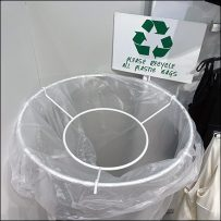 H&M Bag-Recycling Bag Cart Goes Mobile