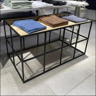 H&M Small Square Box-Truss Table Display