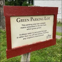Hillside-Farms Green Parking Lot Certification