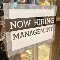 Hot-Topic Now Hiring Management Cling