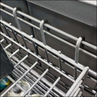 Grab-And-Go Powerwing Slatwire Basket