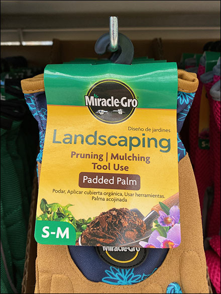 Miracle-Gro Landscaping Glove Hooks