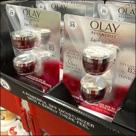 Olay Regenerist Whip Pallet-Rack Merchandising