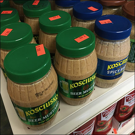 Classic Kosciusko Mustard Merchandising