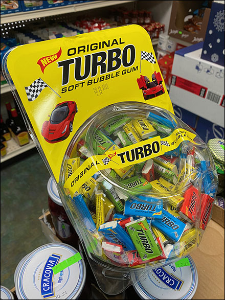 Turbo Bubble-Gum Plastic Apothecary