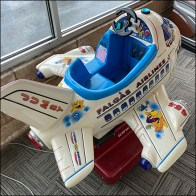 Coin-Operated Kiddie Airplane Ride