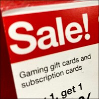 Gaming Gift Card Discount Promotion